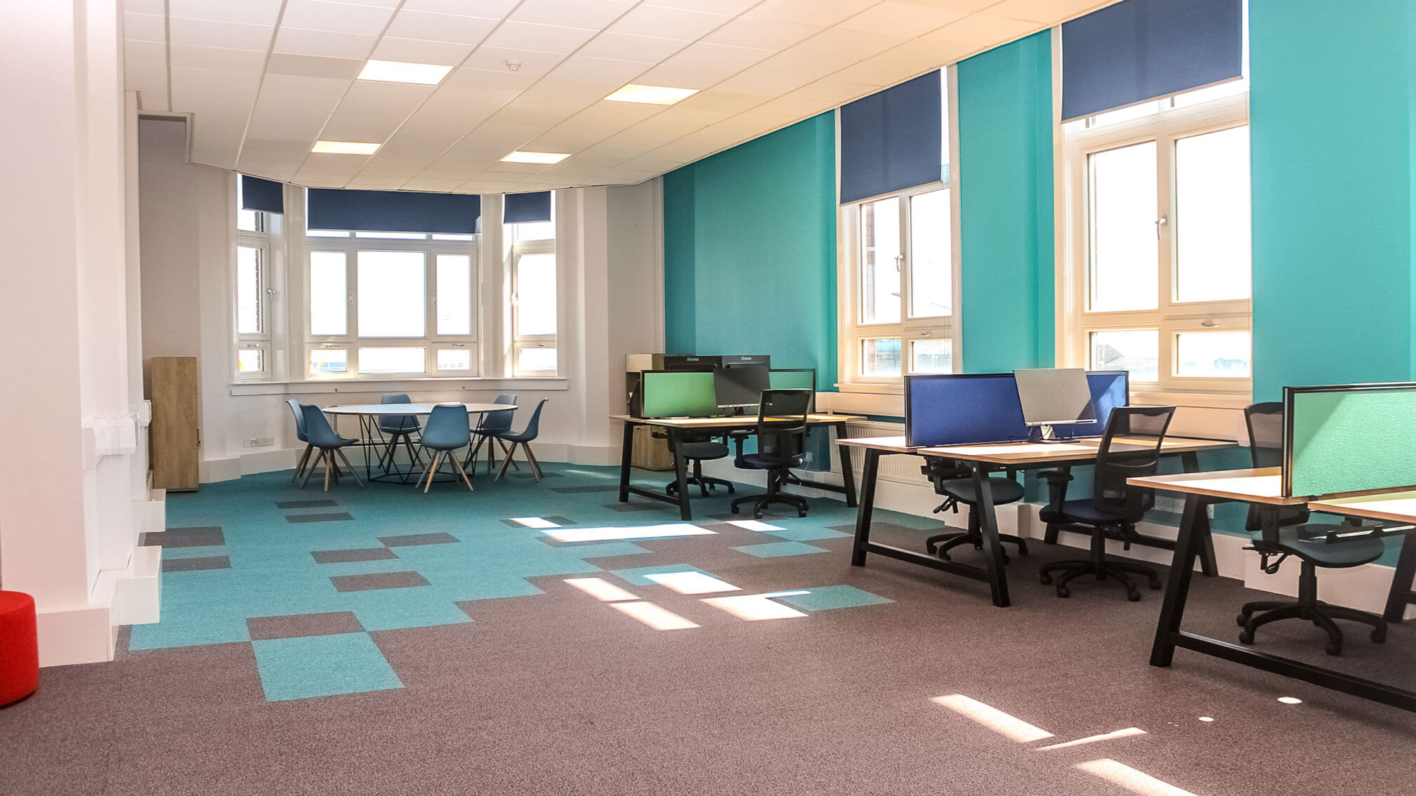 Open Flexible office environment