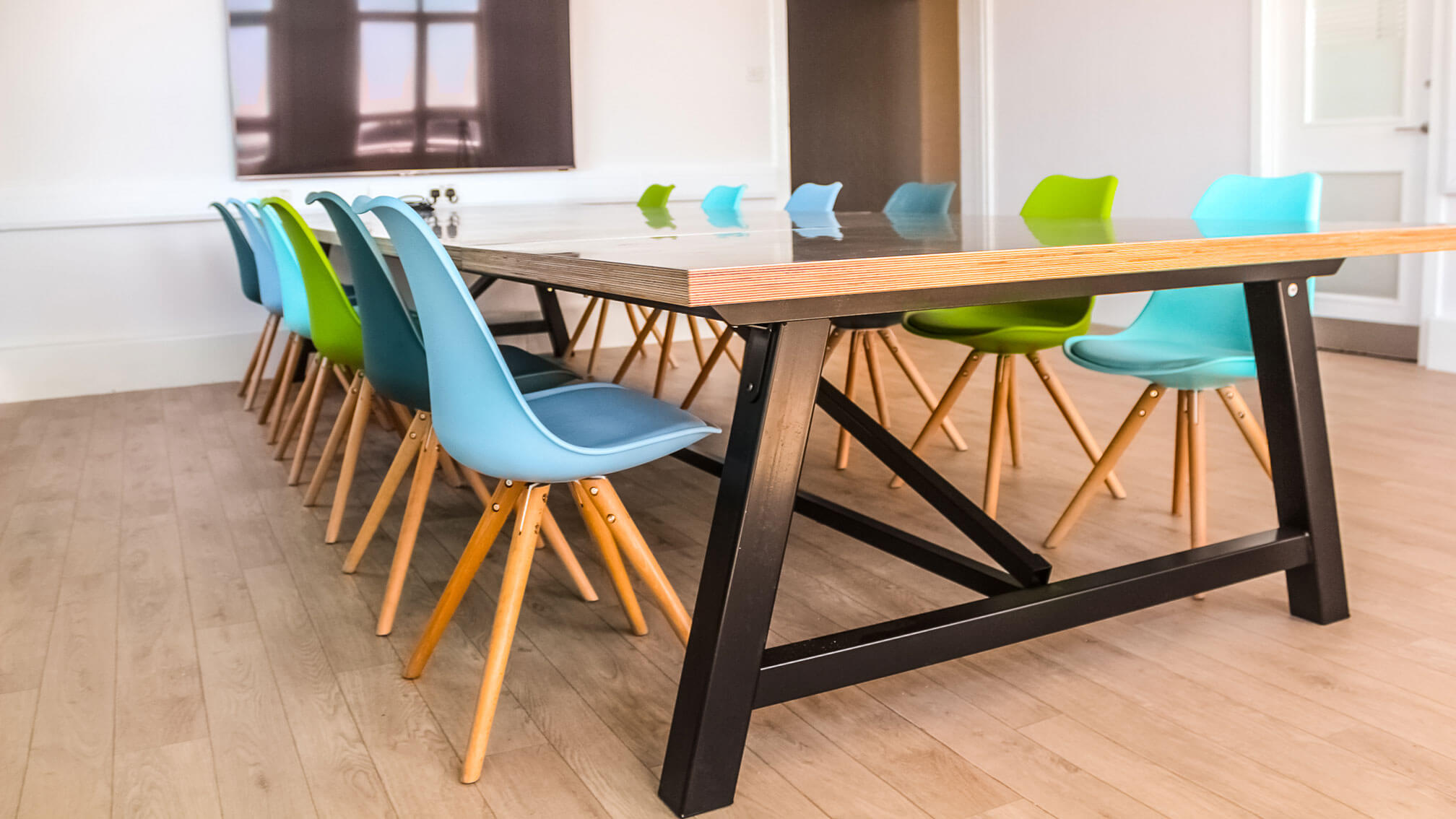 Rigg zinc topped table