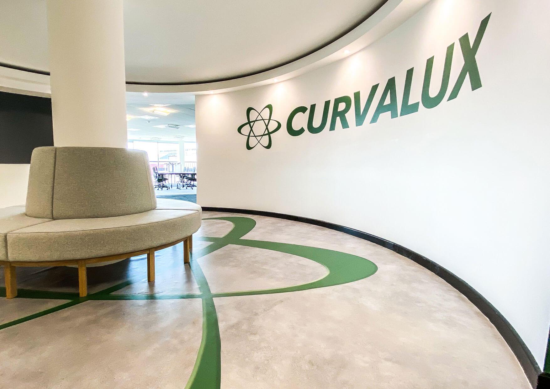 Curvalux-Office-Fitout-Branding