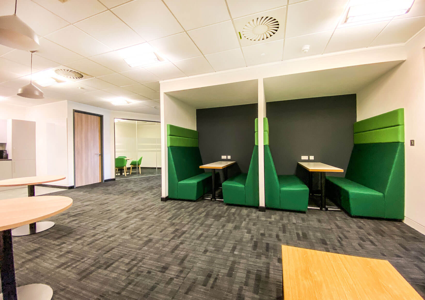Office Breakout Booths