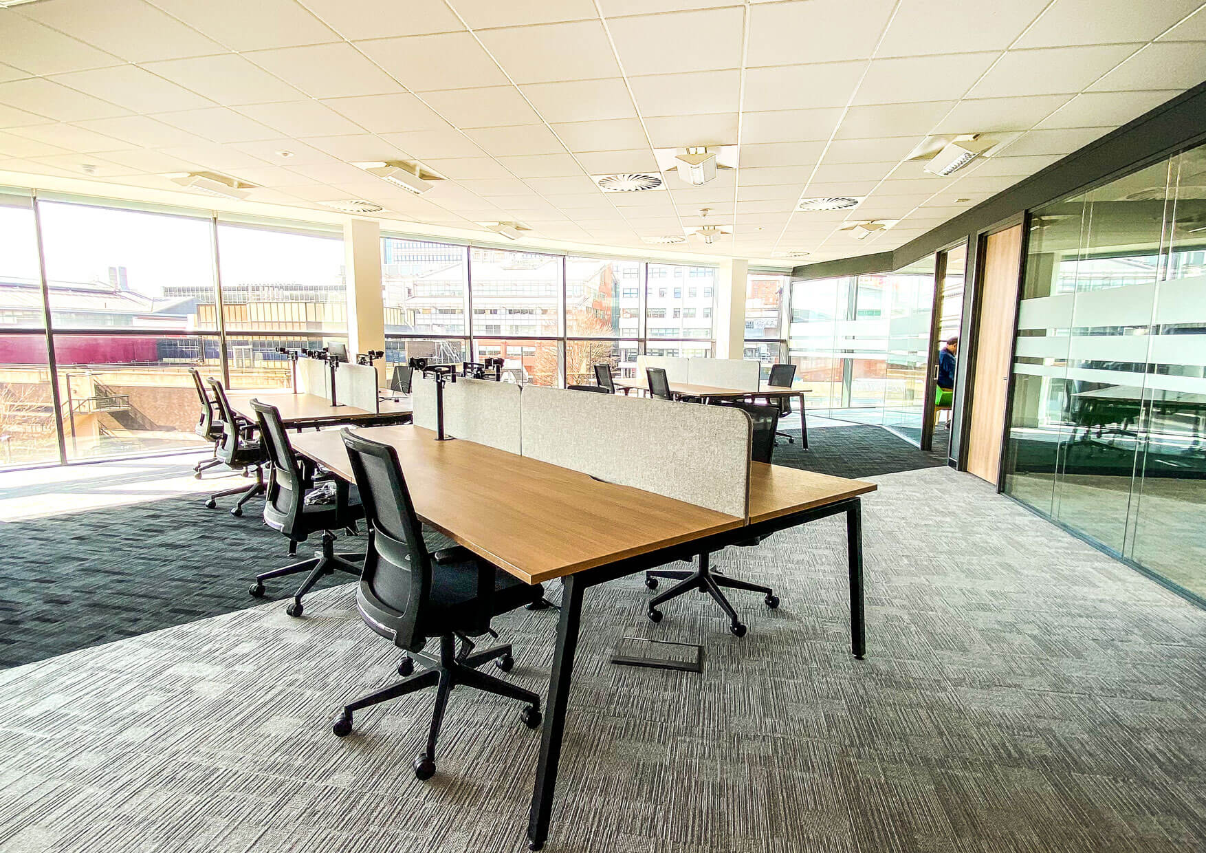 Office Fitout of Curvalux In Sheffield