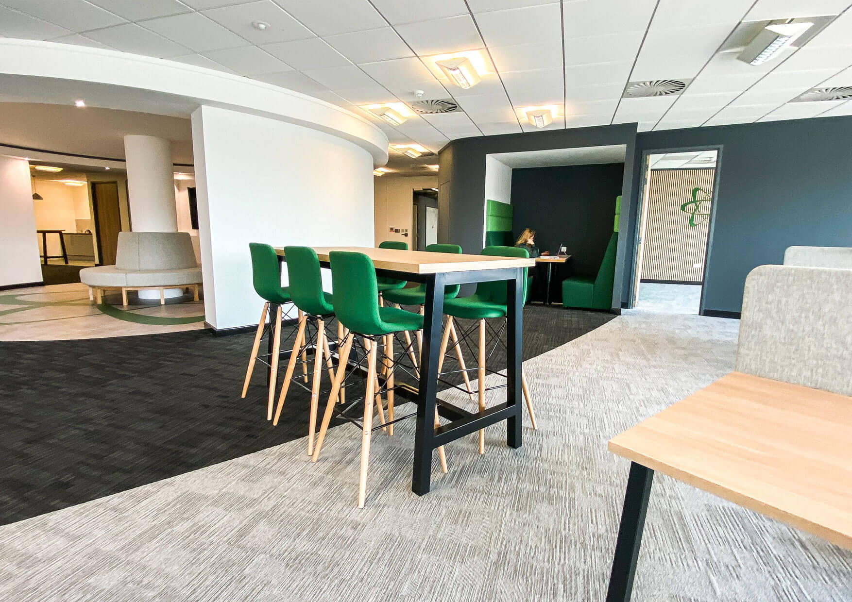 Office Fit out of Curvalux HQ