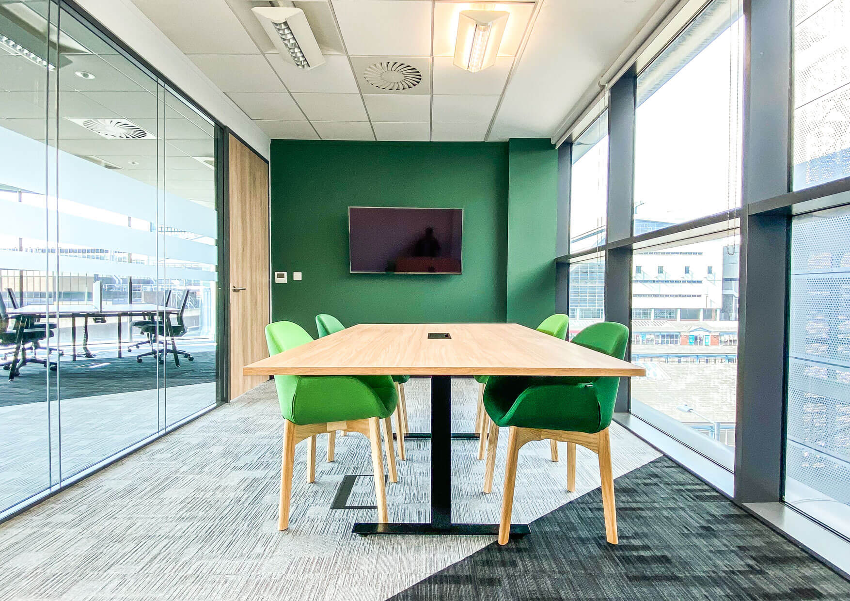Fit-out of office meeting room